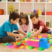 方塊數字積木好萊木方塊塑料拼插男女幼兒園益智拼裝玩具3-6周歲