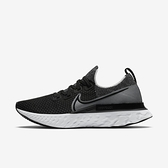 Nike React Infinity Run Fk [CD4371-012] 男鞋 運動 慢跑 緩震 穿搭 黑 白