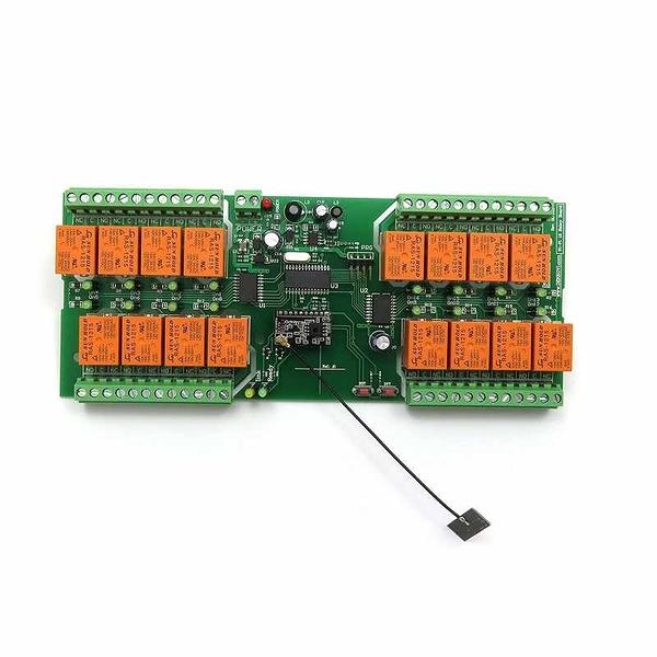 Denkovi WiFi 16 Relay Module, TCP/IP, UDP, Virtual Serial Port - PCB, 12V B06WLKPQXN [2美國直購]