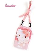 日本限定 三麗鷗 HELLO KITTY 凱蒂貓 天使 觸控手機袋 / 手機包