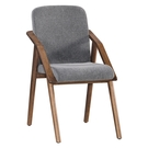 【森可家居】德烈實木餐椅(布) 10JX506-2
