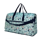 HAPITAS 綠色派對米奇 旅行袋 行李袋 摺疊收納旅行袋 插拉桿旅行袋 HAPI+TAS H0002-MK18 (小)