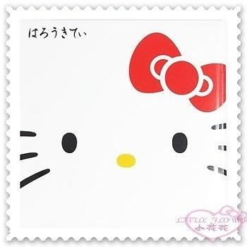 ♥小花花日本精品♥ Hello Kitty 吸油面紙 臉部清潔 大臉造型 蝴蝶結 內附50張 日本限定 45628009