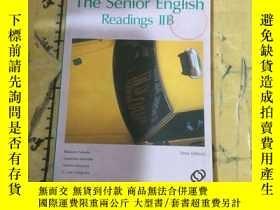 二手書博民逛書店The罕見Senior English Readings IIB
