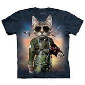 【摩達客】(現貨)美國進口The Mountain 湯姆克魯貓 純棉環保短袖T恤(10415045007)
