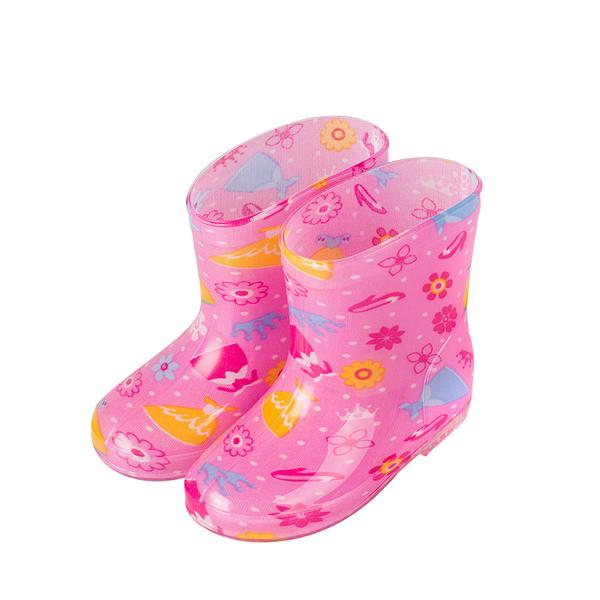 寶寶雨鞋 汽車花朵 防水雨鞋 防水鞋 防水靴兒童雨鞋防水雨靴 88153