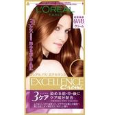 巴黎萊雅 L Oreal 優媚霜三重護髮雙管染髮霜 #6WB紅銅棕(148g)