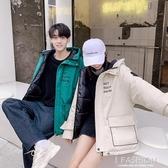 情侶棉衣冬季2019新款韓版寬鬆工裝羽絨棉服女加厚男士外套棉襖潮-ifashion