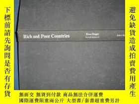 二手書博民逛書店rich罕見and poor countres10445 by