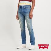 Levis 男款 510 緊身窄管牛仔褲 / 刷黃補丁 / 彈性布料