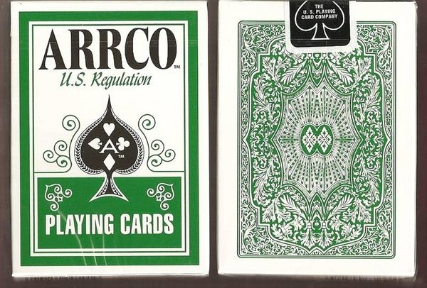 【USPCC撲克館】ARRCO US regulation 撲克牌 綠