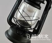 復古懷舊落地燈古典創意咖啡廳馬燈煤油燈美式簡約客廳落地燈WY