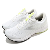 Brooks 慢跑鞋 Ghost 13 魔鬼系列 男鞋 白 灰 高緩衝 路跑 運動鞋【ACS】 1103481D135
