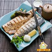美食饗宴-薄鹽鯖魚(中)【喜愛屋】