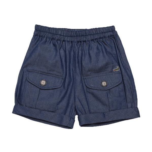 『小鱷魚童裝』休閒仿牛仔短褲(08號~16號)531661