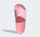 Adidas ADILETTE SHOWER 男女款粉色涼拖鞋-NO.EG1886