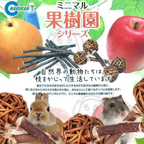 【培菓平價寵物網】 日本《Marukan》MR-376/MR-377小動物啞鈴多種類-2支/包