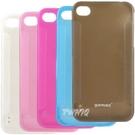 Apple iPhone 4 /iPhone 4S 閃亮亮軟式 夜光保護殼◆送很大!! USB 車充◆