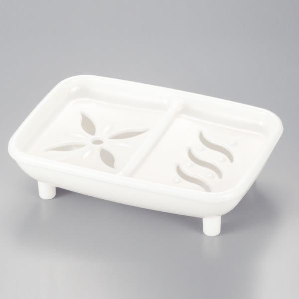 vernal 唯娜露 白色皂盒  日本製