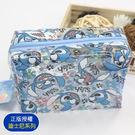 ☆小時候創意屋☆ 迪士尼 正版授權 大臉史迪奇 大號 透明包 化妝包 收納包 環保 防水包 海灘包