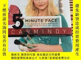 二手書博民逛書店The罕見5-Minute Face: The Quick &