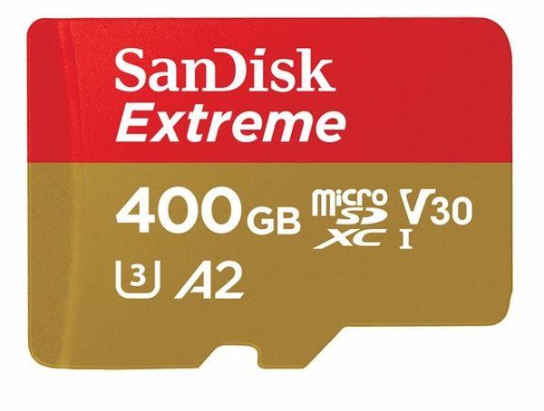 【聖影數位】SanDisk Extreme micro SDXC U3 V30 A2 400G 記憶卡 讀160MB/S 寫入90MB/S