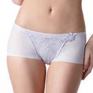 LADY 安布羅莎系列 刺繡中腰平口褲(薰衣紫)