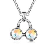 項鍊 925純銀 水晶銀飾墜子-音樂符號生日情人節禮物女飾品5色73aj451【時尚巴黎】