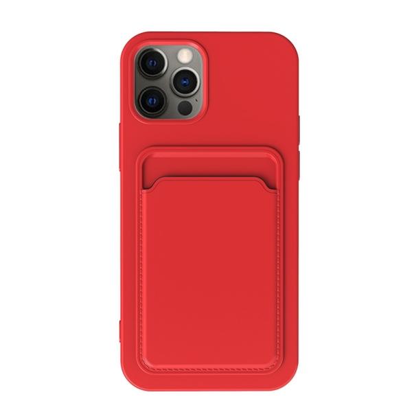 蘋果 TPU 柔軟 卡套 卡包 信用卡 悠遊卡 適用 iPhone 12 12 pro max 軟殼 手機殼 保護殼