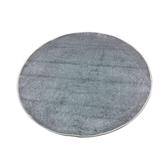 蝴蝶地毯133x133cm淺灰圓形