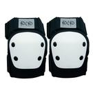 D.L.D  多輪多 專業特技直排輪護具 溜冰鞋 蛇板 滑板護具配件 極限運動強化護膝(肘) 黑白 S