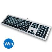 B.FRIEND KB460 剪刀腳發光薄型有線鍵盤 (Windows專用)
