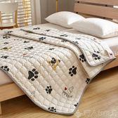 純棉薄款床鋪墊子防滑床墊1.8m床2米雙人墊子夏季鋪床被墊褥可洗 LX