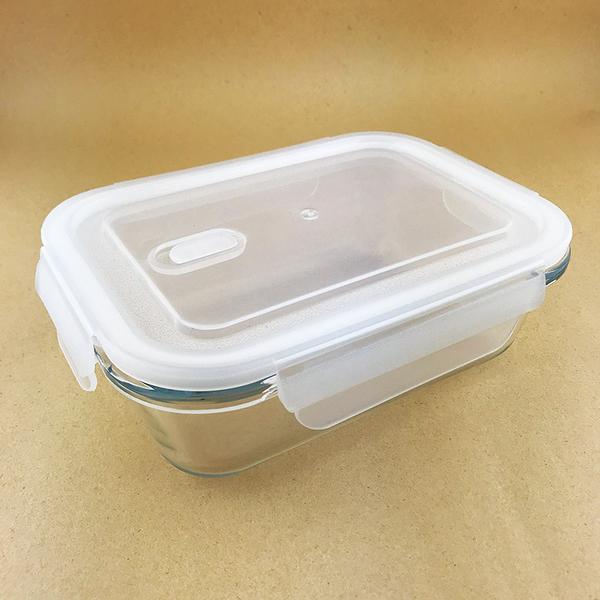 長方玻璃保鮮盒 1000ml