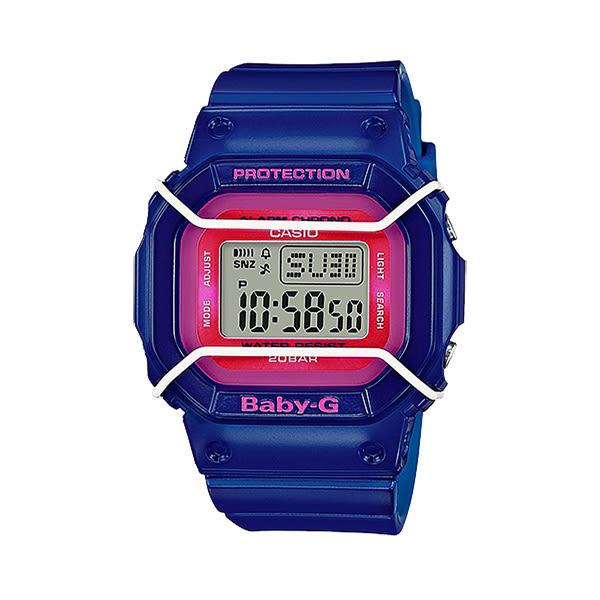 CASIO BABY-G 熱帶風情時尚運動腕錶-BGD-501FS-2DR