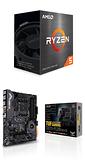 【自組DIY兩件組R56】AMD R5 5600X+華碩 TUF GAMING X570-PLUS WI-FI