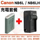 【套餐組合】 Canon NB6L NB...