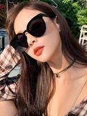 太陽眼鏡明星網紅款墨鏡女2018新款GM港味韓版潮街拍圓臉防紫外線 極客玩家