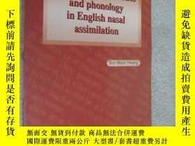 二手書博民逛書店An罕見aspect of phonetics and phon