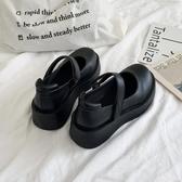 瑪麗珍鞋 2020春季新款英倫學院風百搭洛麗塔復古瑪麗珍鞋厚底漆皮小皮鞋女 愛麗絲