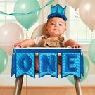 嬰兒餐椅裝飾-小旗子