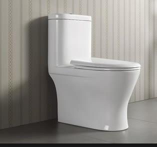 【麗室衛浴】美國KARAT凱樂 K-2571 原裝進口 正沖噴射虹吸式單體馬桶