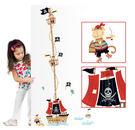 壁貼現貨 可愛海盜船身高尺壁貼 兒童房客...