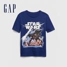 Gap男童星際大戰螢光短袖T恤573676-雨藍