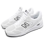 New Balance 慢跑鞋 NB X90 白 黑 透氣網布鞋面 全新鞋款 運動鞋 男鞋【ACS】 MSX90CLED