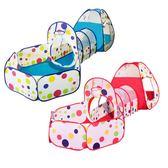 週年慶優惠-兒童帳篷室內戶外遊戲屋寶寶玩具嬰兒陽光隧道筒可投籃海洋球池