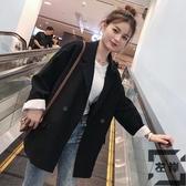 韓版春秋西裝外套女潮休閒小西服英倫風上衣【左岸男裝】