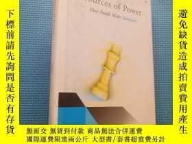 二手書博民逛書店Sources罕見of Power: How People Ma