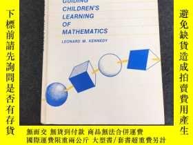 二手書博民逛書店GUIDING罕見CHILDRENS LEARNING OF MATHEMATICSA 引導兒童數學學習Y23