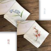 【全館】82折蘇繡DIY刺繡 手帕套件初學者適用含工具中秋佳節